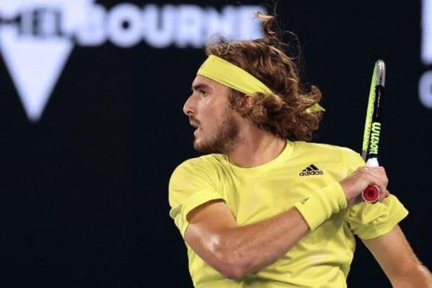 Stefanos Tsitsipas file sans difficulté au deuxième tour de l'Open d'Australie