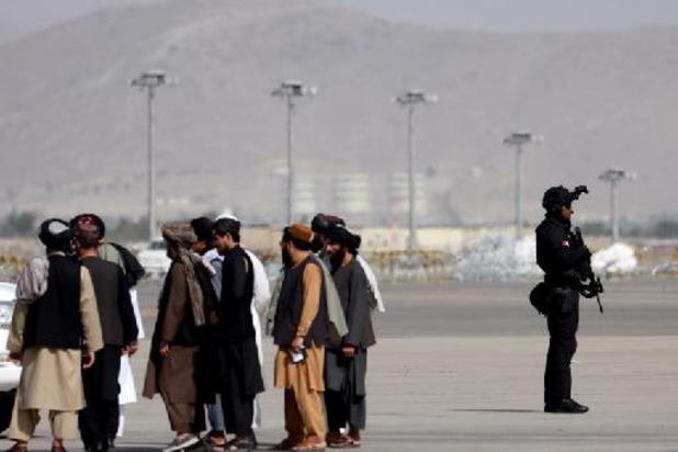 Taliban aan de macht - Qatarese minister van Buitenlandse Zaken ontmoet taliban in Kaboel