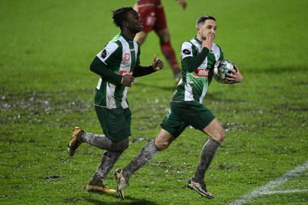 Croky Cup - Courtrai s'impose à Lommel (1-3) et passe en huitièmes de finale