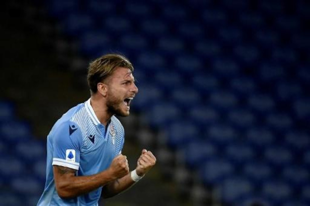 Serie A - Ciro Immobile égale le record d'Higuain en Serie A et s'offre le Soulier d'Or européen