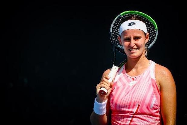 Greet Minnen joue son premier tour dimanche contre Petra Kvitova