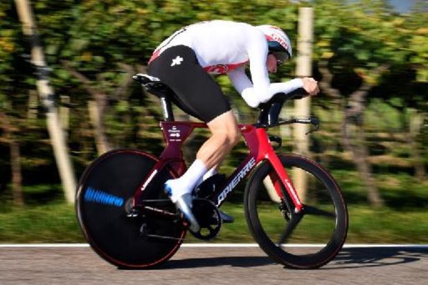 Mondiaux de cyclisme: La Suisse sera emmenée par le champion d'Europe du chrono Stefan Küng et Marc Hirschi