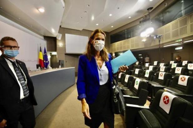Wilmès prête à démissionner si elle ne peut plus recueillir la confiance le 17 septembre
