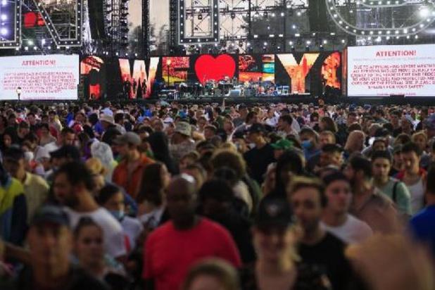 Grootschalig concert in New York afgebroken wegens komst orkaan Henri