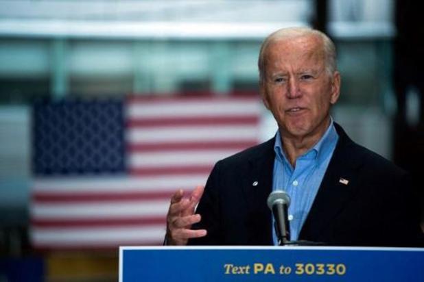 Ook Democratische presidentskandidaat Joe Biden wordt getest
