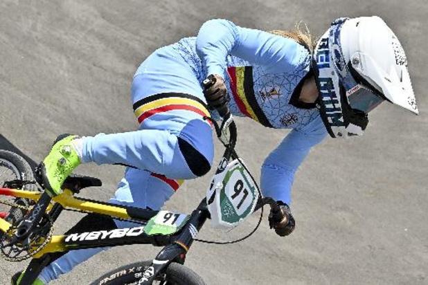 JO 2020 - Elke Vanhoof éliminée en demi-finales du BMX