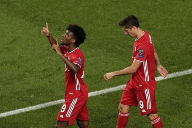 Champions League - Kingsley Coman bezorgt Bayern zesde Europa Cup I