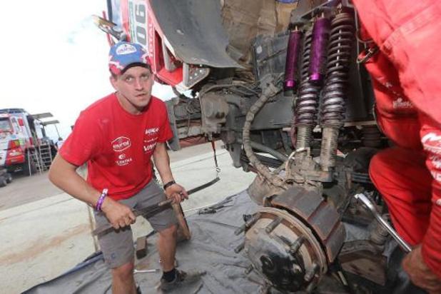 """Jan Van Der Vaet: """"Notre camion doit être capable de maîtriser le parcours"""""""
