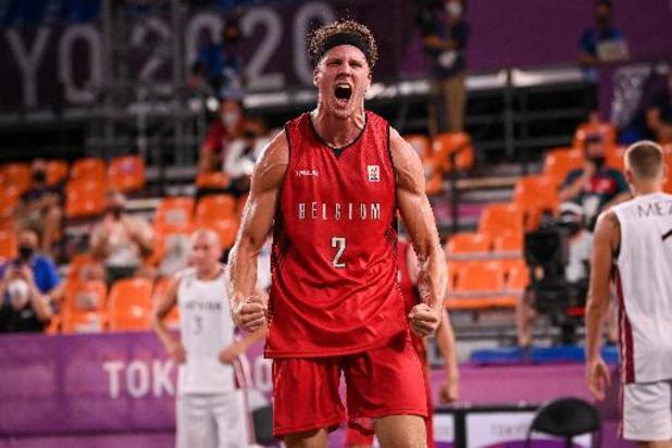 La Belgique gagne son premier match face à la Lettonie en 3X3
