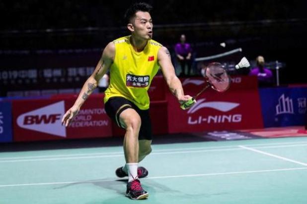 Lin Dan, double champion olympique de badminton, met un terme à sa carrière