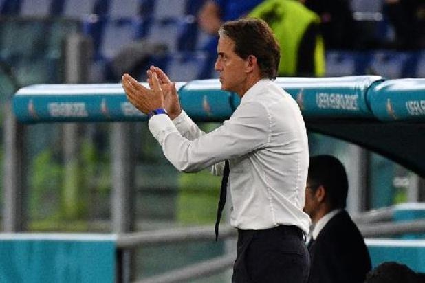 """EK 2020 - Mancini wist waar Turkije te pakken was: """"Snelle balcirculatie was cruciaal"""""""