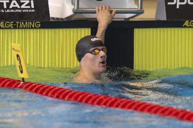 Eindhoven Qualification Meet - Cinquièmes places pour Marcourt (200m libre), Smits (100m dos) et Van Dooren