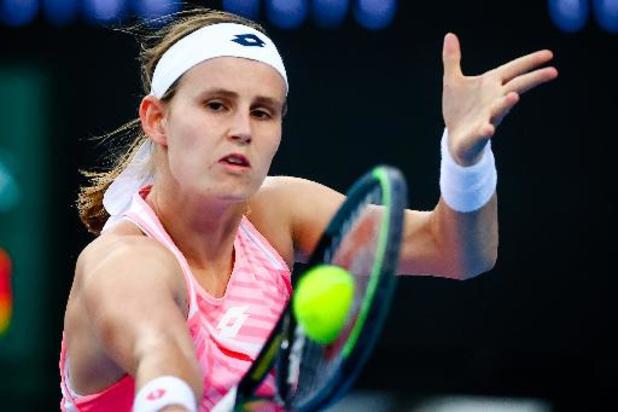 WTA Concord - Greet Minnen éliminée au 2e tour