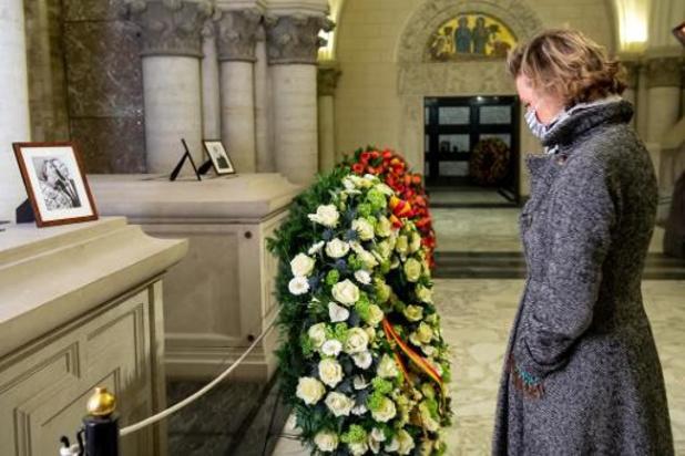 La princesse Delphine a participé à un hommage aux défunts de la famille royale