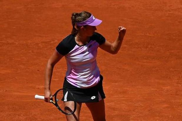 Elise Mertens réussit l'exploit contre Simona Halep en 8e de finale du WTA de Madrid
