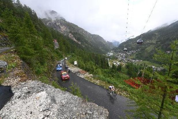 Tour de France - 9e étape - Sept coureurs, dont Loïc Vliegen, hors délais