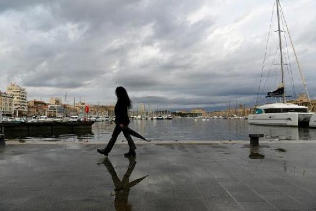 Intempéries en France: fin de vigilance orange dans le Sud-Est, sauf en Haute-Corse