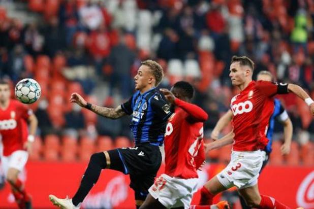 Jupiler Pro League - Standard houdt in extremis punt thuis tegen Club Brugge