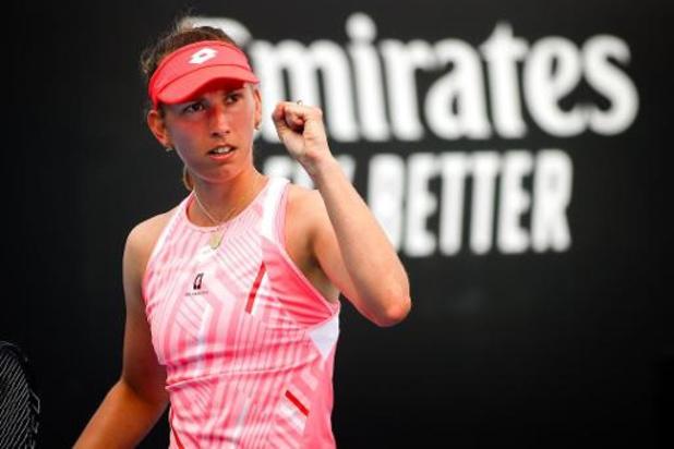 Open d'Australie - Elise Mertens et Aryna Sabalenka qualifiées pour le 3e tour sans jouer