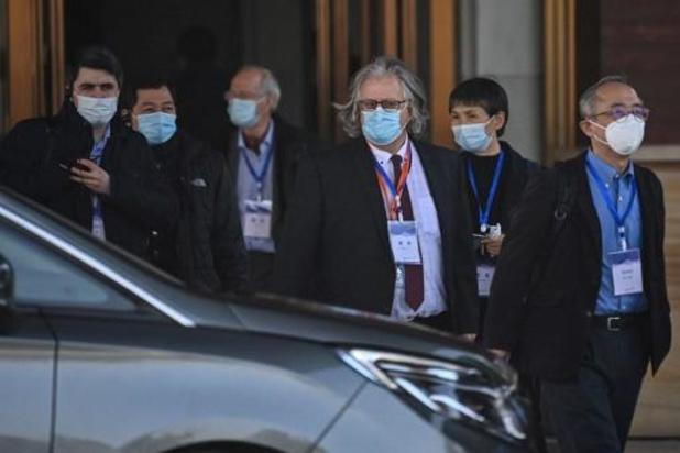 WHO-experts eindelijk op het terrein in Wuhan
