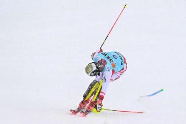 Victoire de l'Autrichien Manuel Feller au slalom de Flachau, sa première