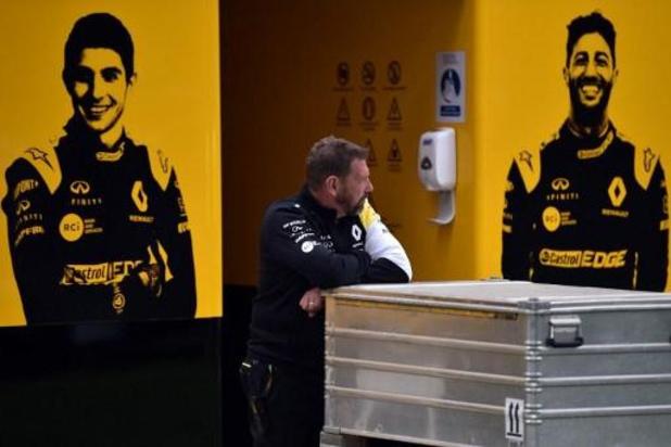 Renault assure rester en Formue 1 malgré le plan d'économies