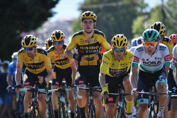 Tour de France - Van Aert speelt het ploegenspel