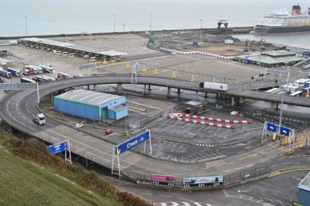 Coronavirus - Haven van Dover weer open voor uitgaand verkeer