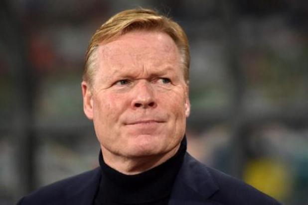 Ronald Koeman nouvel entraîneur du FC Barcelone, Dwight Lodeweges à la tête des Pays-Bas