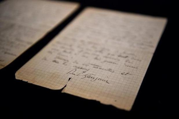 Brief bordeelbezoek Van Gogh en Gauguin geveild voor 210.600 euro