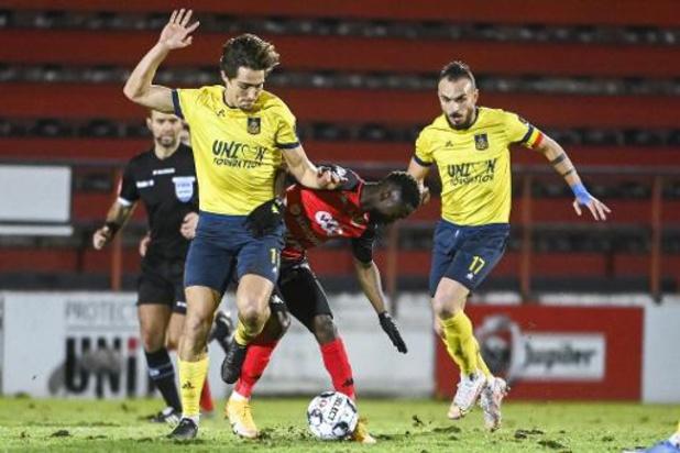 1B Pro League - Seraing repoussé à 18 points après sa défaite face à l'Union Saint-Gilloise