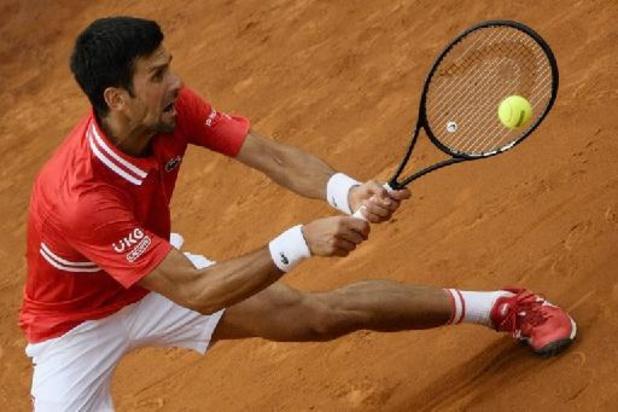 ATP Belgrade: Novak Djokovic réussit ses débuts à domicile
