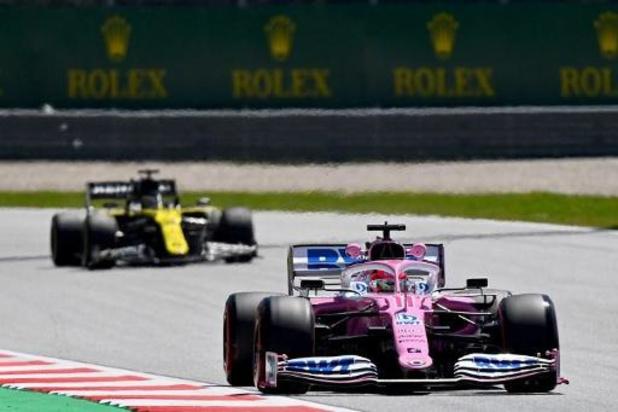 F1 - GP de Hongrie - Renault porte à nouveau réclamation contre Racing Point