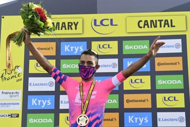 Tour de France: Martínez boekt eerste ritzege in de Tour