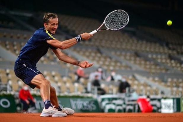 Roland-Garros - Daniil Medvedev se qualifie pour le troisième tour