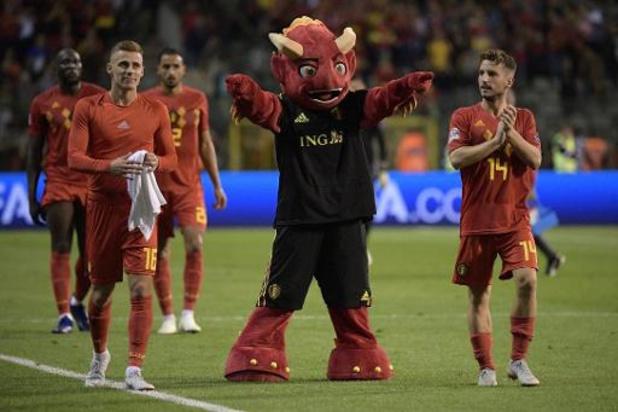 Diables Rouges: l'Union belge a prévu de l'animation jeudi contre Saint Marin pour fêter la qualification