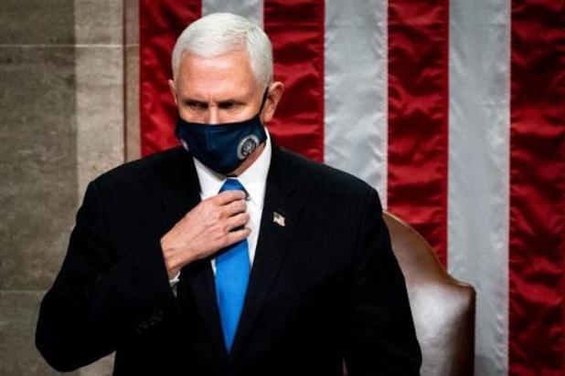 Transition à la Maison Blanche - Mike Pence assistera à l'investiture de Biden