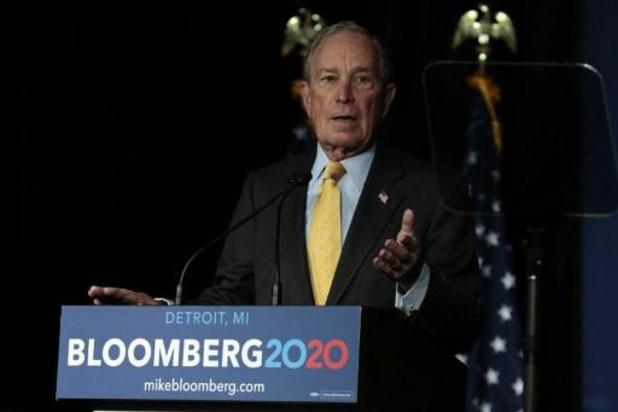 Presidentsverkiezingen VS - Bloomberg verkoopt miljardenbedrijf als hij president wordt