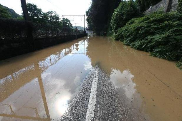 La Meuse et la Sambre ont été contenues, mais les ruisseaux ont débordé