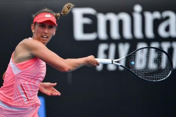 """Elise Mertens: """"Je voulais absolument gagner en deux sets"""""""