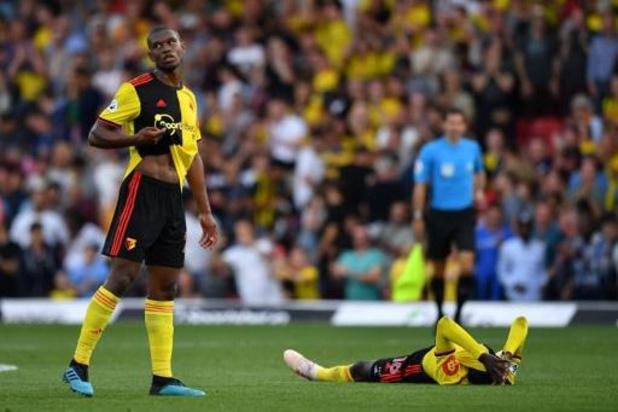 Belgen in het buitenland - Kabasele speelt gelijk met Watford, drie punten voor Brighton van Trossard