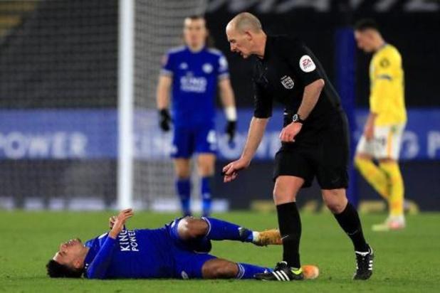 Saison terminée pour le défenseur de Leicester James Justin