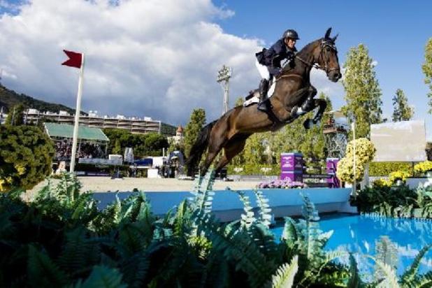 CSI-jumping Madrid - Olivier Robert wint tweede manche Global Champions Tour, Jérôme Guéry net in top tien