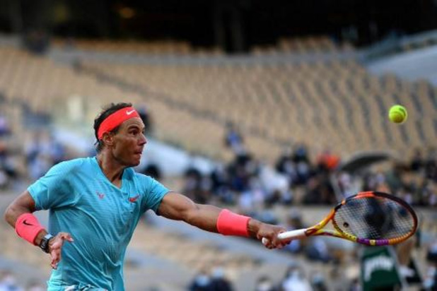 Nadal klopt Schwartzman in halve finale en speelt zondag voor dertiende titel op Roland Garros