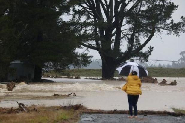 Importantes inondations sur l'île méridionale de Nouvelle-Zélande