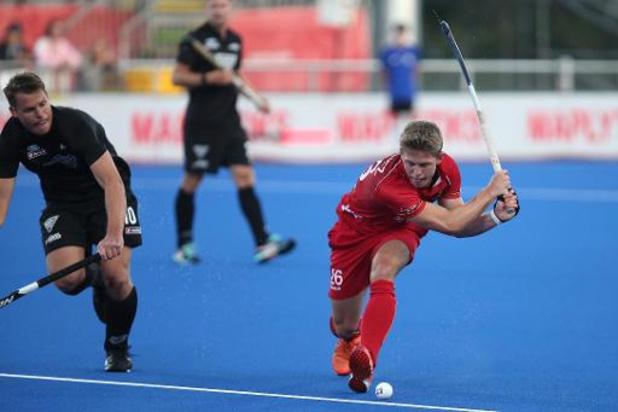 """Victor Wegnez et les Red Lions """"voulaient marquer les premiers"""" contre les Black Sticks"""