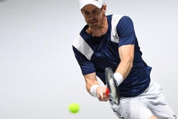 Australian Open - Andy Murray laat eerste Grand Slam van 2020 schieten