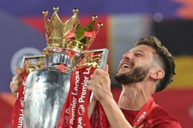 Premier League - Adam Lallana ruilt Liverpool voor Brighton & Hove Albion