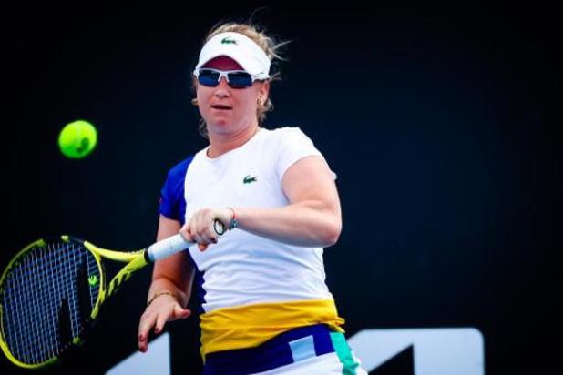 WTA Yarra Valley Classic - Ysaline Bonaventure battue au premier tour