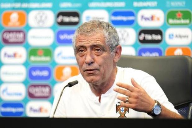 """EK 2020 - Portugese bondscoach Santos wil """"zwaktes van België uitbuiten"""""""
